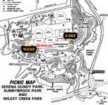 Sunnybrook Park Map